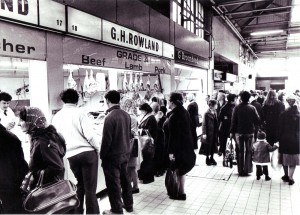 Castle Market in 1977. Courtesy of Sheffield Newspapers