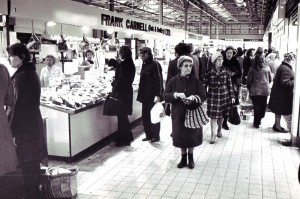 Castle Market in 1976. Courtesy of Sheffield Newspapers